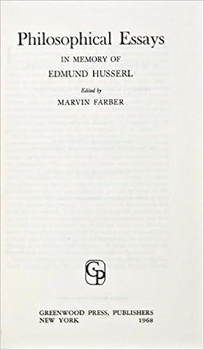 com philosophical essays in memory of edmund husserl philosophical essays in memory of edmund husserl reprint edition