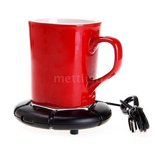 [해외]휴대용 USB 전원 컵 낯 짝 따뜻한 커피 차 음료 히터 트레이 패드 핫 미국 Q1DM/Portable USB Powered Cup Mug Warmer Coffee Tea Drink Heater Tray Pad Hot US Q1DM