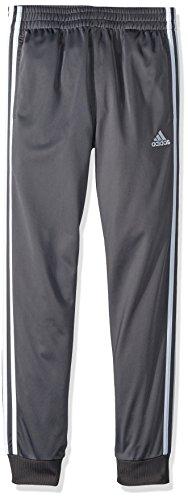 adidas Boys' Big YRC Youth Iconic Tricot Jogger, Dark Grey, M(10/12)