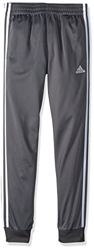 adidas Boys Big Jogger Pant, Dark Grey Heather, S (8/10)