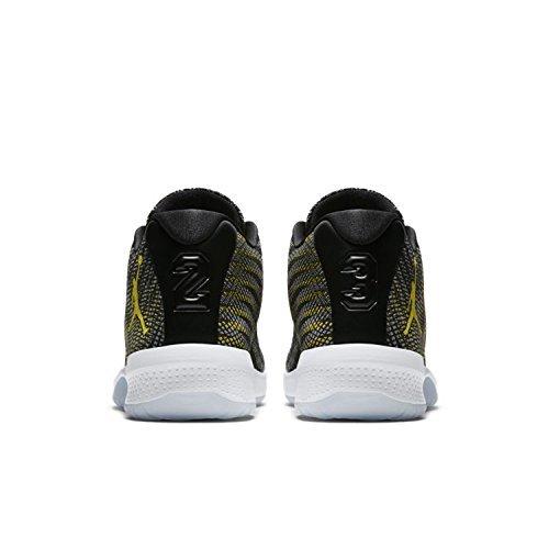 Jordan Nike Heren B.fly Basketbalschoen Zwart Geel Wolf Grijs 014