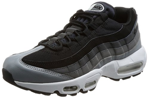 4fcf39ef723 Galleon - NIKE AIR Max 95 Essential Mens Fashion-Sneakers 749766-021 9.5 -  Black Black-Anthracite-Dark Grey