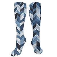 Pattern Socks,Socks Women Low Cut,Women Casual,Socks Navy Zigzag Twisty Lines