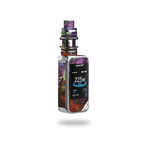 MightySkins Skin Compatible with SMOK X-Priv 225W - Paint Drip | Protective, Durable, and Unique Vinyl Decal wrap Cover | Easy to Apply, Remove, and Change Styles | Made in The USA