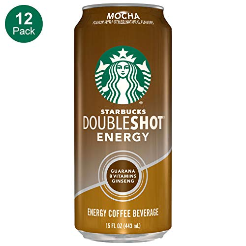 Starbucks, Doubleshot Energy Coffee, Mocha, 15 fl oz.