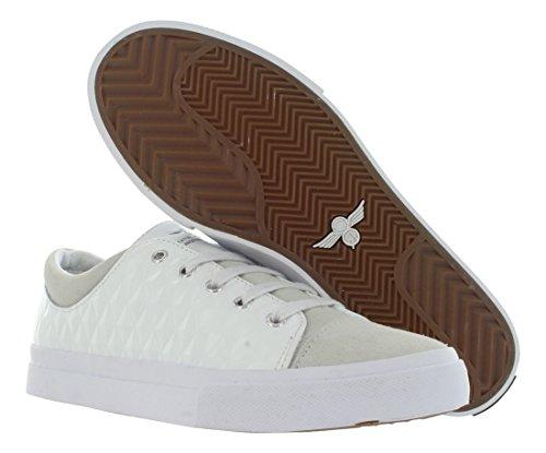 Loisirs Créatifs Mens Forlano Fashion Sneaker Blanc