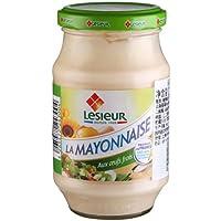 Lesieur 乐禧瑞 玻璃罐装蛋黄酱235g(法国进口)