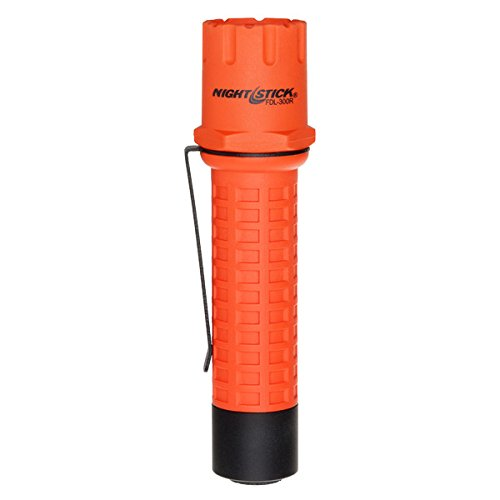 Nightstick FDL-300R Tactical Fire Light-Non-Rechargeable, 5.5-Inch, Red
