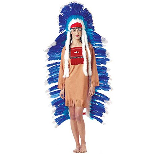 Wilton Women's Adult Full Indian Costume Headdress (Indian Chief Headdress For Sale)