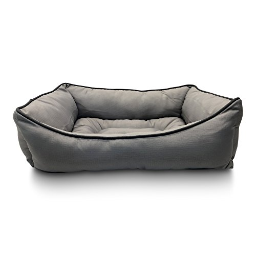 - Pet Craft Supply Premium Snoozer Couch Style Indoor/Outdoor All Season Water Resistant Durable Anxiety Reducing Dog Bed for Medium and Large Dogs