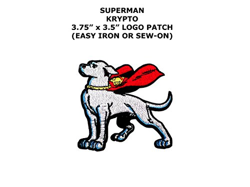 Super Hero DC Comics Krypto Dog Iron or Sew-on Patch