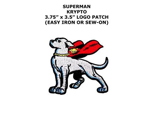 Super Hero DC Comics Krypto Dog Iron or Sew-on Patch