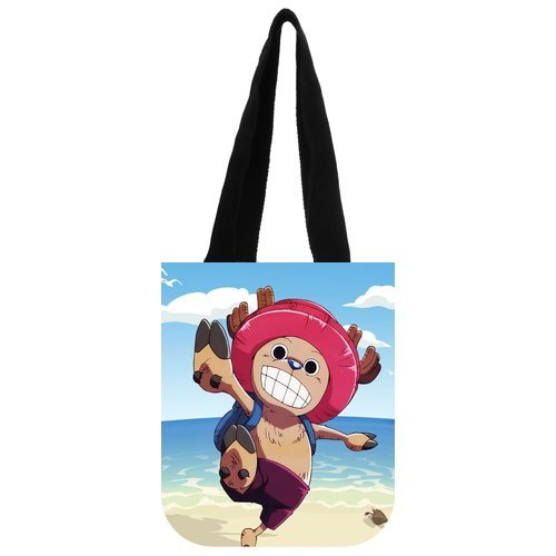 """The Story Of The Pirate Ship Little Monster Custom Carrying Shopping Grocery Tote Bag Multi Purpose Durable Material Handbag Bag 10.2"""" x 11.8"""" x 5.3"""" Twin Sides"""