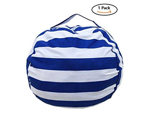 Blue Star Bean Bag Chair - 9