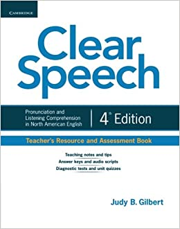 Clear speech teachers resource and assessment book pronunciation clear speech teachers resource and assessment book pronunciation and listening comprehension in north american english livros na amazon brasil fandeluxe Image collections