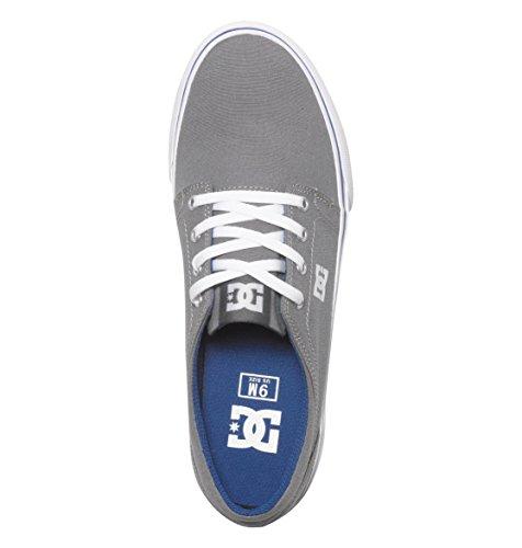 Hombre Shoes TX Trase Zapatillas Grey DC para Blue w4qv78qX