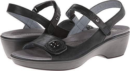 Naot Women's Reserve Dress Sandal, Black, 40 EU/9 M US