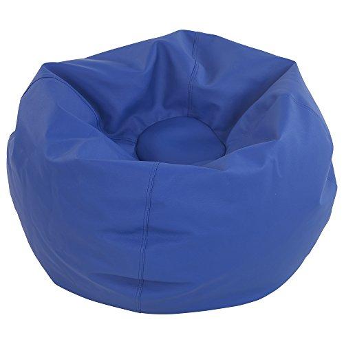 ECR4Kids Standard Classic Bean Bag, Blue (35'') by ECR4Kids