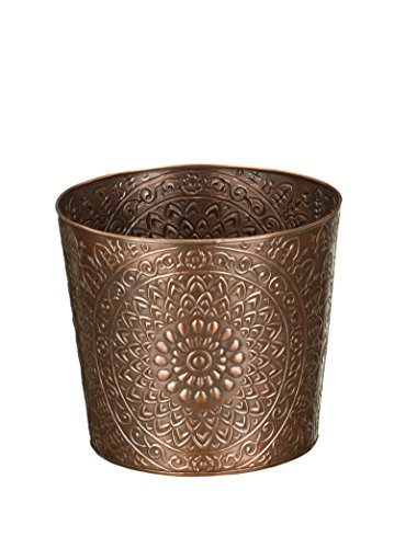 Regal Art & Gift Medallion Tapered Planter, 6""