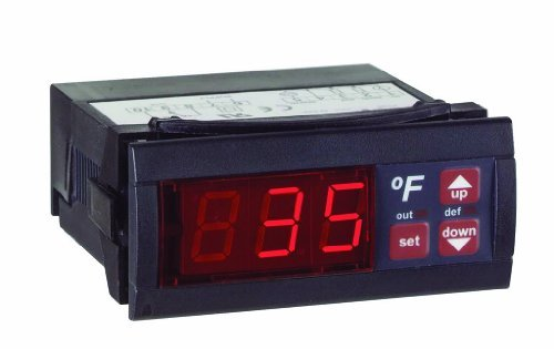 Dwyer Love Series TS Digital Temperature Switch, 110 V, 16 A, F display by Dwyer