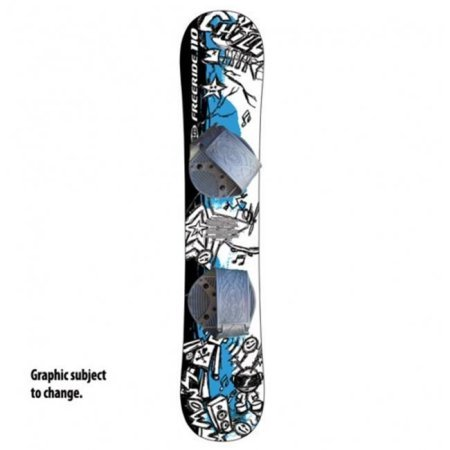 Graffiti Snowboard, Adjustable Bindings by GA Shop
