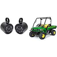 John Deere Gator XUV/RSX Kicker 6.5 600 Watt Rollbar Rollcage Tower Speakers