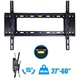 "New Flat TV Wall Mount Bracket 15°Tilt Swivel For 27"" 32"" 37""42""47"" 50"" 55"" 60"" inch"