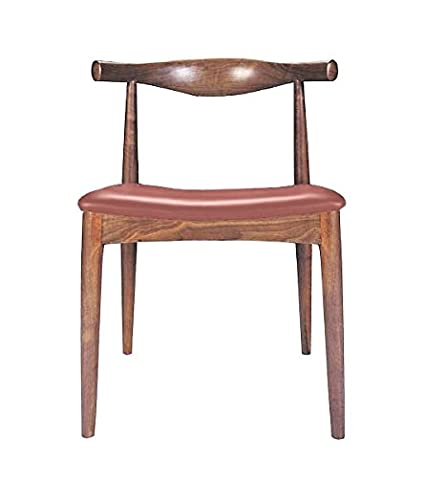 Amazoncom Mid Century Modern Porter Dining Chair With Leather