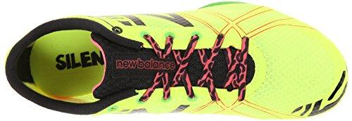 New Balance Femmes Wmd500v3 Moyen Distance Spike Chaussure Jaune / Noir