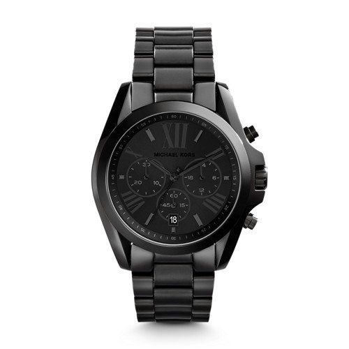 Michael Kors Men's Bradshaw Black Watch - Man Kors Michael