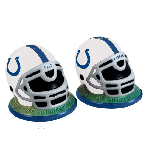 NFL Indianapolis Colts Helmet Salt and Pepper Shakers