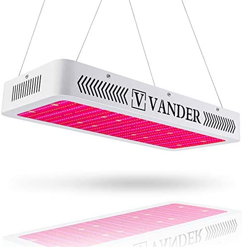 Vander 3000W Led Grow Light Double Switch for Indoor Plants Veg and Flower with UV IR