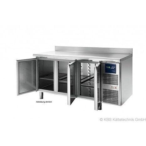 KBS kühltisch KTF 4010 M steckerfertig - 4 Puertas - con encimera ...