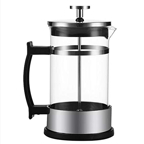 joyMerit 2 Pack French Press Coffee Maker (1cup / 2cup, 12oz), 304 Stainless Steel Coffee Press 350ml, Durable Easy Clean & Heat Resistant Glass