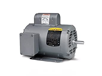 Baldor electric l1209 50 48 frame open ac motor 1 2 hp for 1 5 hp 120v electric motor
