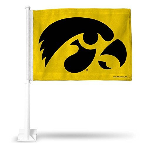 - Rico Industries NCAA Iowa Hawkeyes Car Flag