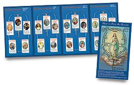 How to Pray the Rosary Tri Fold Color (Colour Flyers)