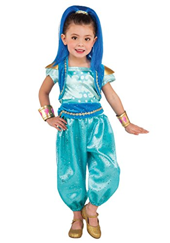 6 Year Old Halloween Costumes - Girls Deluxe Shine Costume -