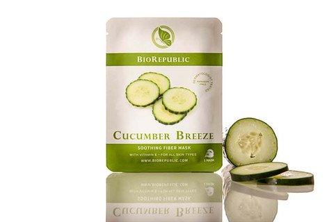 Breeze Mask - BioRepublic Skincare Cucumber Breeze 3 Mask Set