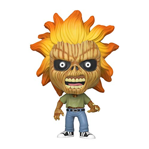 Funko- Pop Rocks Iron Maiden (Skeleton Eddie) Collectible Toy, Multicolor (45121)