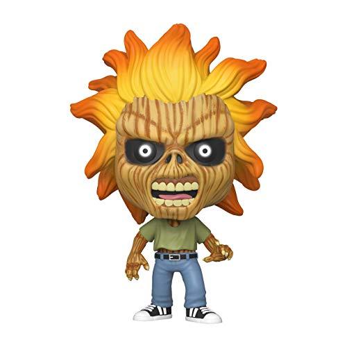 Funko- Pop Rocks Iron Maiden (Skeleton Eddie) Collectible Toy, Multicolor (45121)