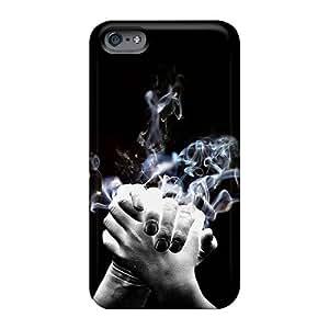 DrawsBriscoe Apple Iphone 6 Shock Absorbent Hard Phone Cover Unique Design Lifelike Linkin Park Pattern [SXN968pPYf]