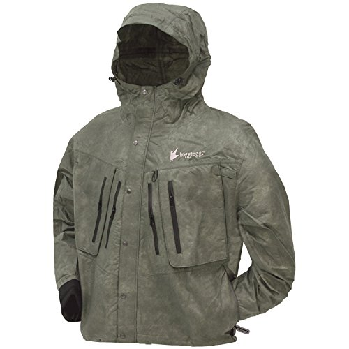 Price comparison product image Frogg Toggs TT6405-052X Tekk Toad Wading Jacket,  Stone