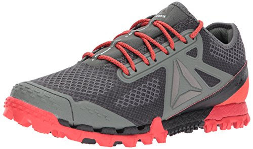 Reebok Mens All Terrain Super 3.0 Sneaker, Ironstone/Coal/dayglow re, 13 M US