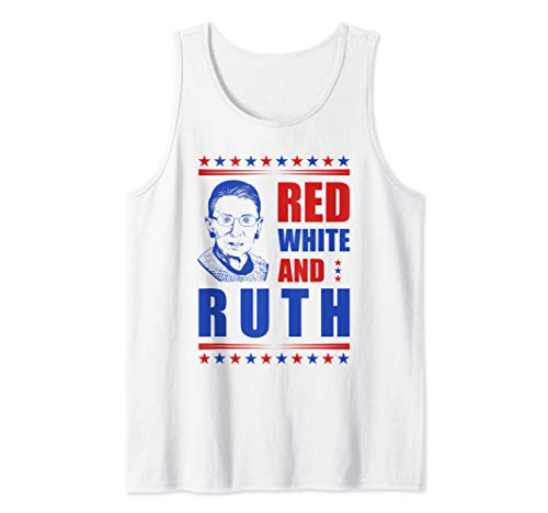 - Notorious RBG Ruth Bader Ginsburg Political 4th of July Gift Tank Top
