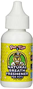 Pet Kiss Breath Freshener for Dogs, 1-Ounce