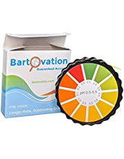 pH Test Strips for Kombucha Brewing Precise Acidity Test Paper Roll with Dispenser and Color Chart .5-5.5 pH