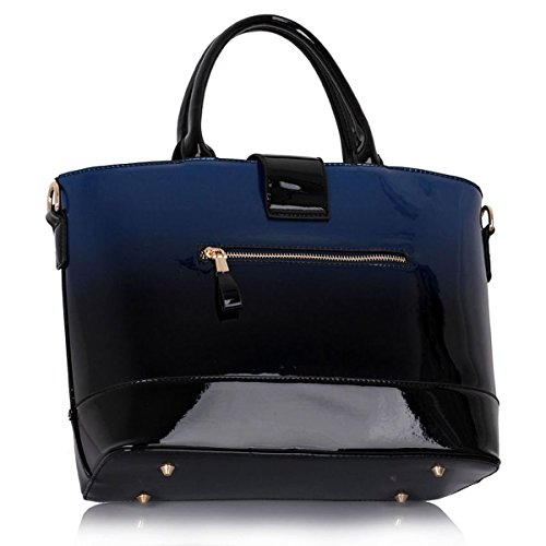 Xardi London, Borsa a spalla donna large Navy