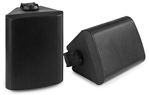 Power Dynamics BGO50 Zwarte speakerset voor binnen en buiten – 120W