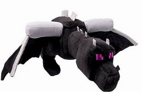 [Shallen Minecraft Animal Enderdragon Plush Toys Stuffed animals Soft Toy Plushies➹] (Ghast Minecraft Costume)